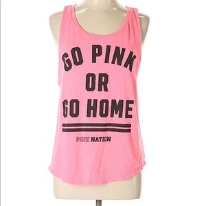 Victoria's secret pink muscle tee size L